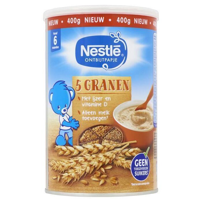 Nestlé Ontbijtpapje 5 Granen (400g)