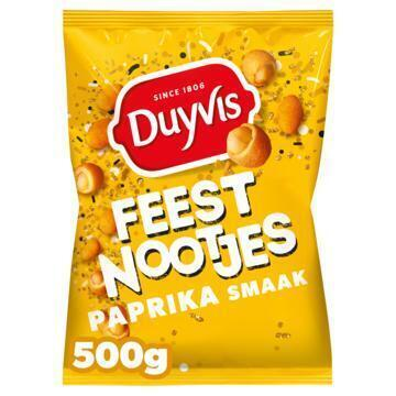 Duyvis Crac A Nut Pinda's Paprika Flavour 500g (500g)