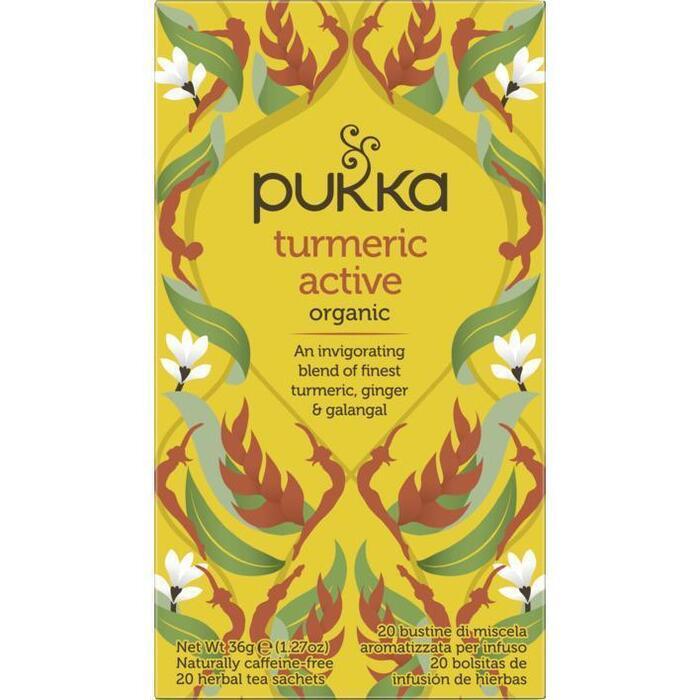 Pukka Turmeric active (20 × 1.8g)
