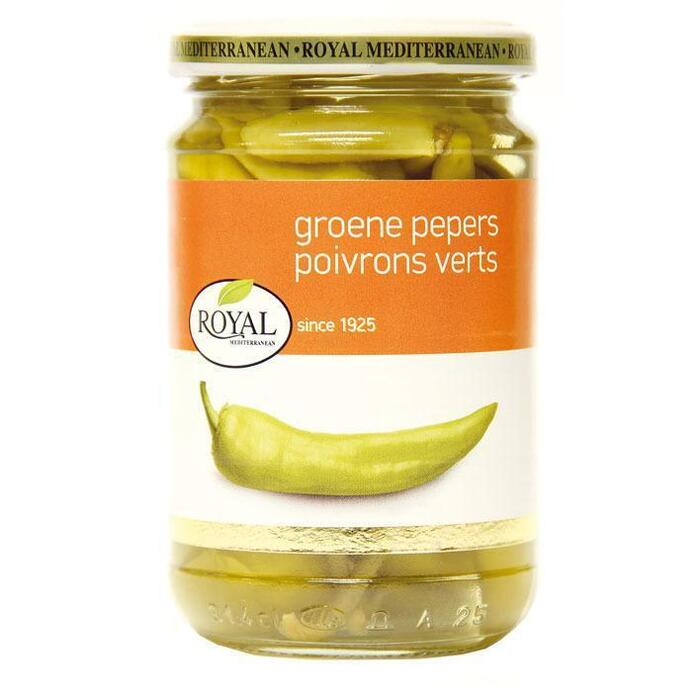 Groene Pepers (pot, 290g)