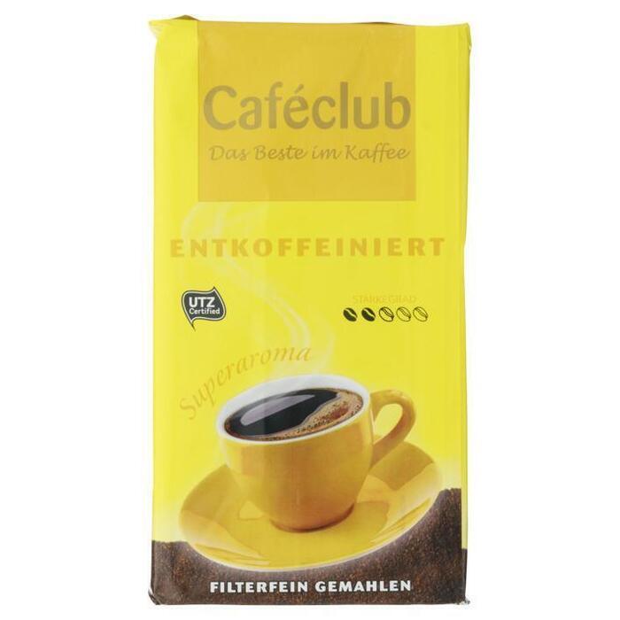 Caféclub Superaroma entkoffeiniert (500g)
