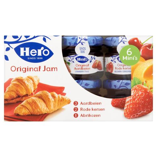 Hero Original Jam Mini's 6 x 28g (6 × 28g)