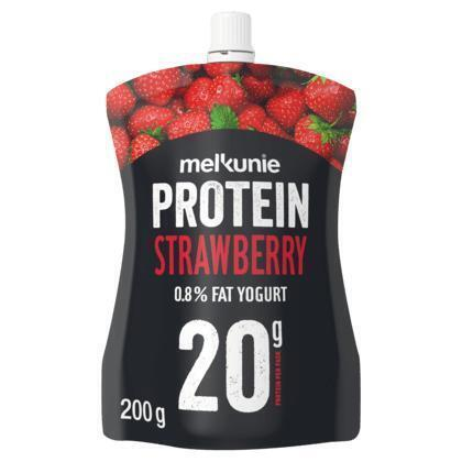 Melkunie Protein yoghurt aardbei (200g)