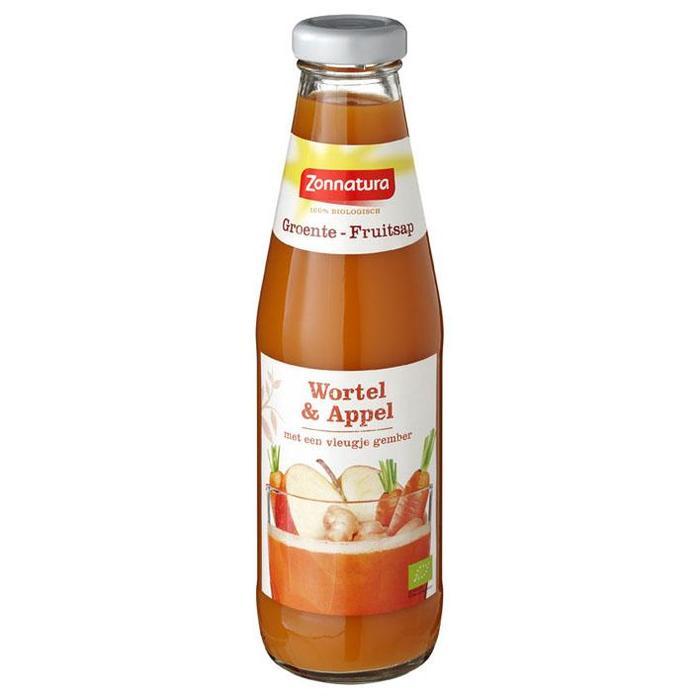 Zonnatura Groente Fruitsap Wortel Appel (0.5L)