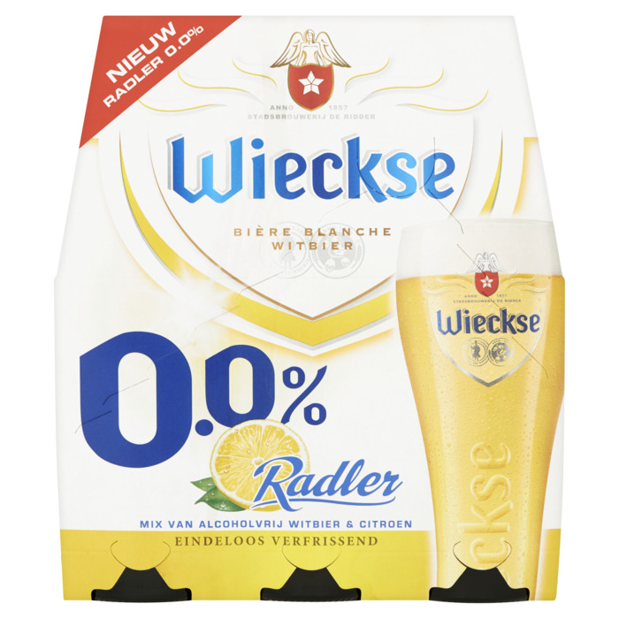Wieckse 0.0% Radler (rol, 6 × 30cl)