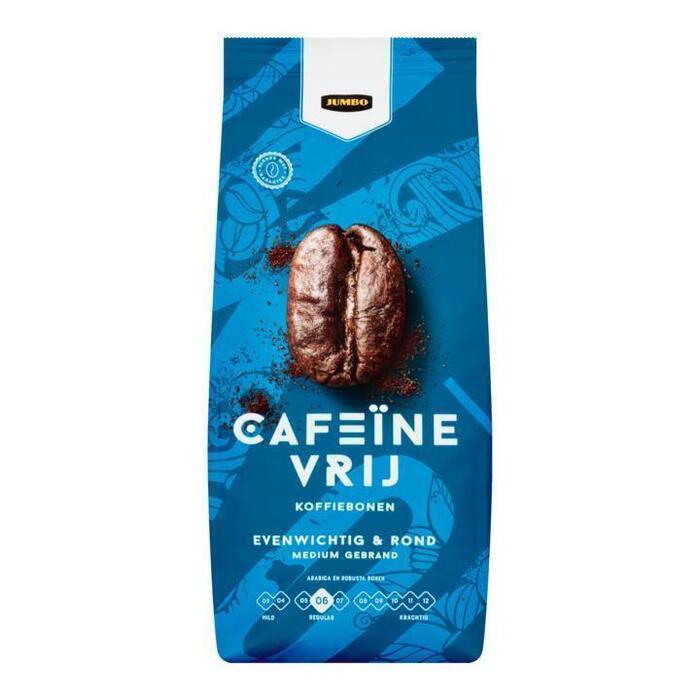 Jumbo Cafeïnevrij Koffiebonen 500 g (500g)