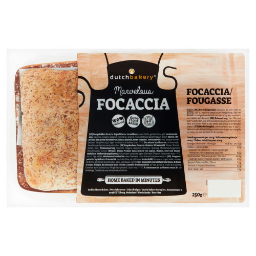 Dutch Bakery Foccacia 250 g (250g)