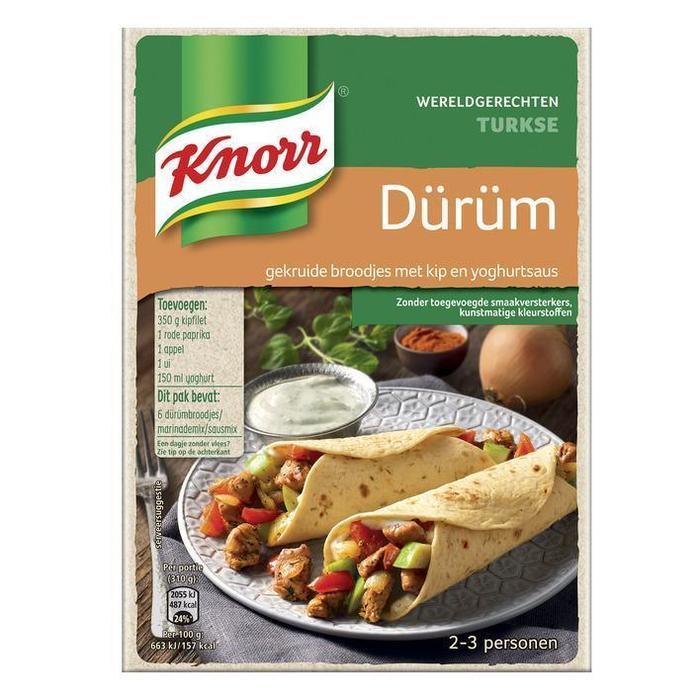 Knorr Wereldgerechten durum (201g)