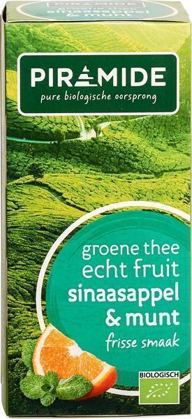 Groene thee sinaasappel munt 1 kops (20 st.)
