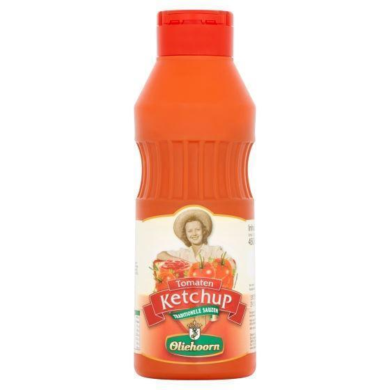 Oliehoorn Tomatenketchup Knijpfles 450 ml (45cl)