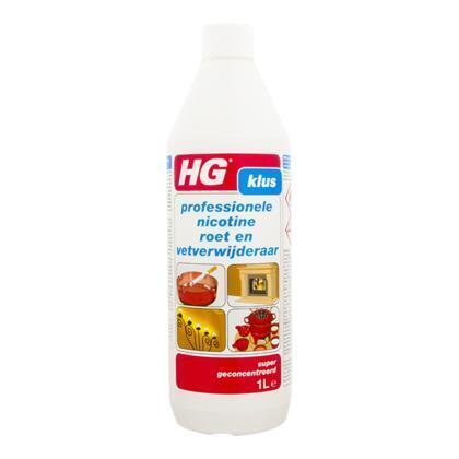 HG Klus Professionele Nicotine Roet en Vetverwijderaar 1 L (1L)