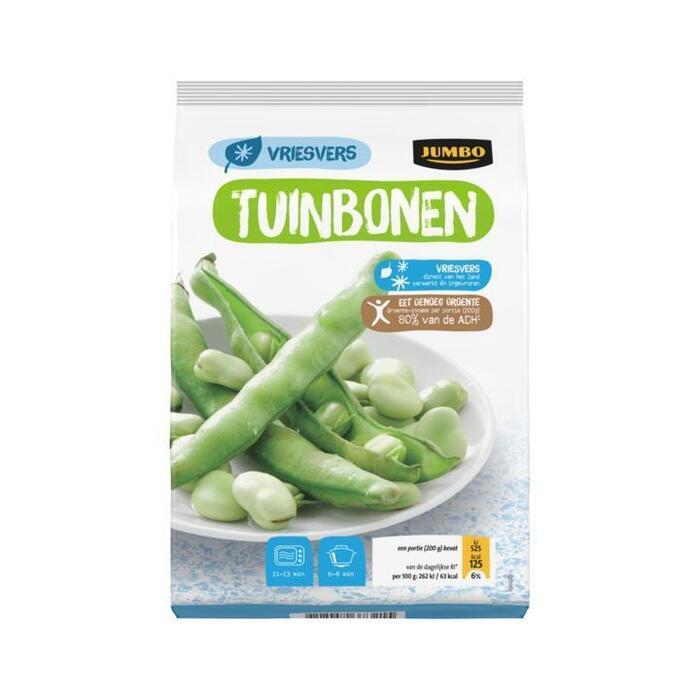 Jumbo Tuinbonen Vriesvers 450g (450g)