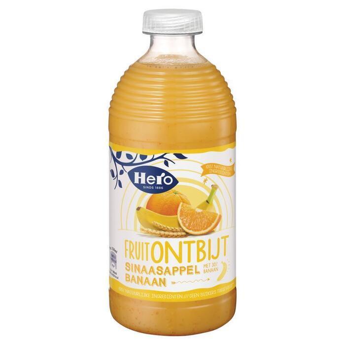 Fruitontbijt sinaasappel-banaan (0.75L)
