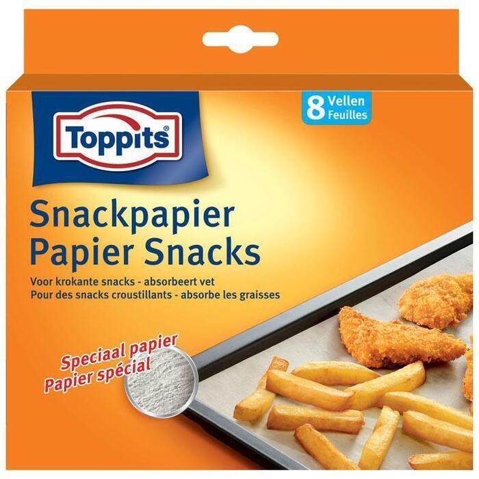 Toppits Snackpapier vellen