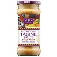 Alfez Tagine sauce honey & almond (350g)
