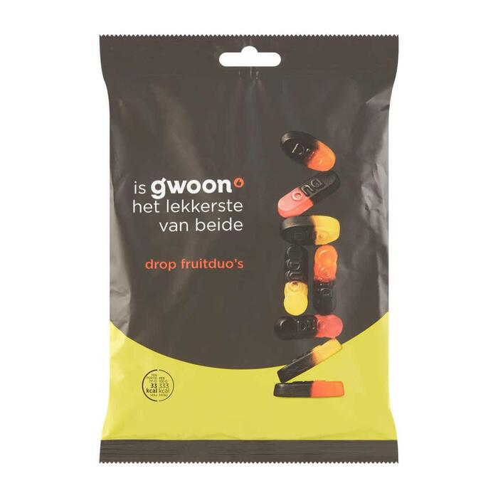 g'woon Drop fruitduo's (400g)