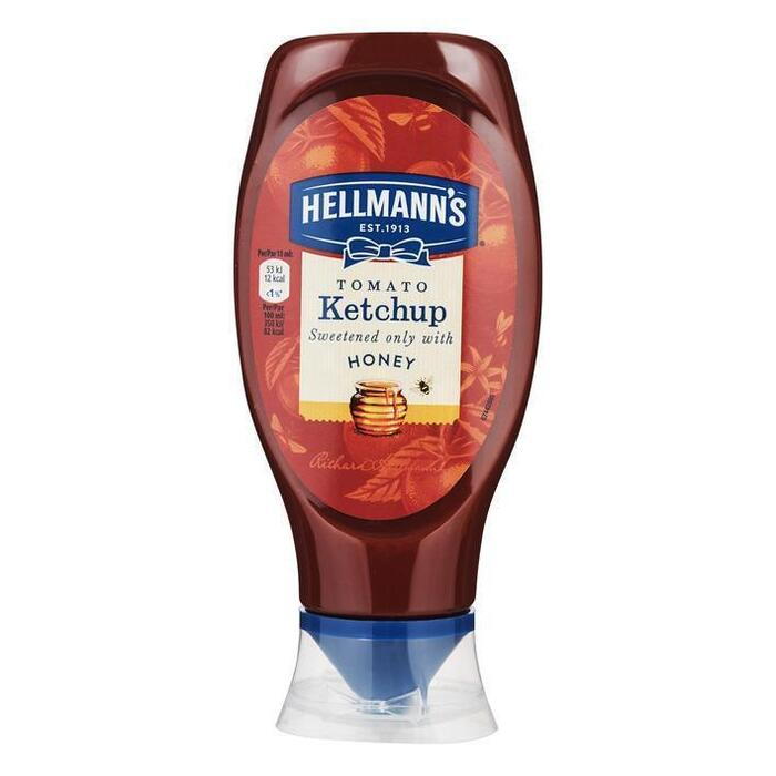 Hellmann's Ketchup sweetened with honey (pot, 43cl)