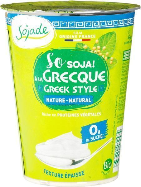 So soya natural greek style (400g)