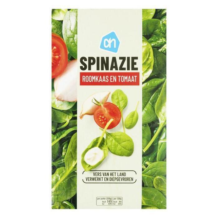 Spinazie roomkaas en tomaat (doos, 400g)