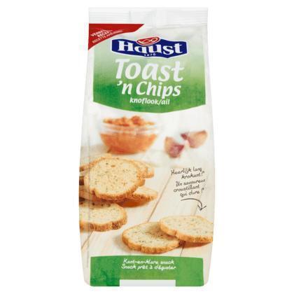 Toast 'n Chips Knoflook (bak, 125g)