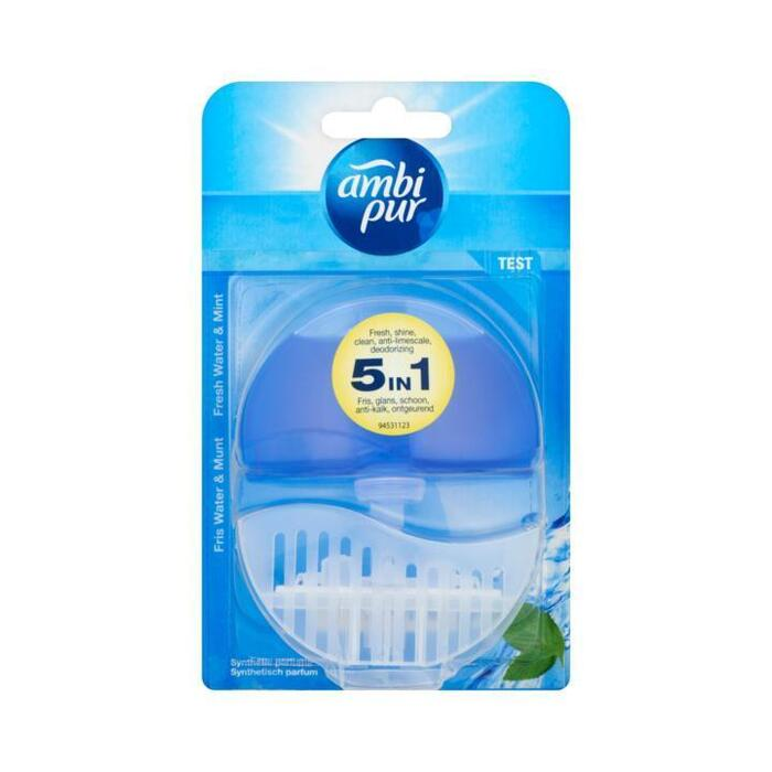 Ambi Pur Flush fresh water & mint 3-pak (blister, 55ml)