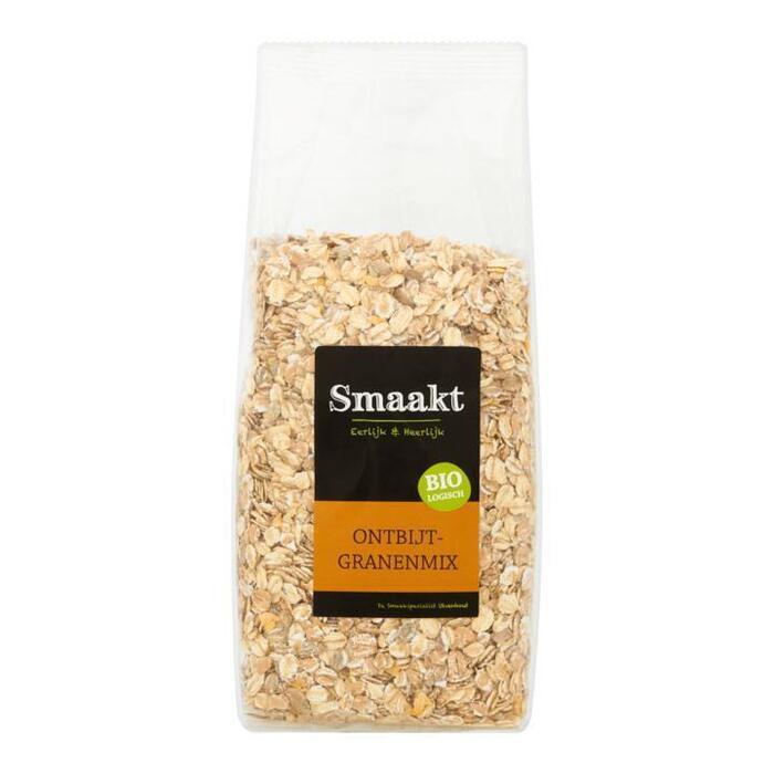 Smaakt Biologisch Ontbijtgranenmix 500g (500g)