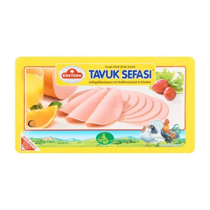 Kalkoenvleesworst (125g)