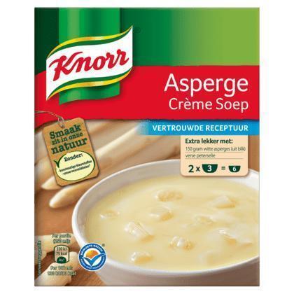 Asperge créme soep (2x3 porties, 2 × 108g)