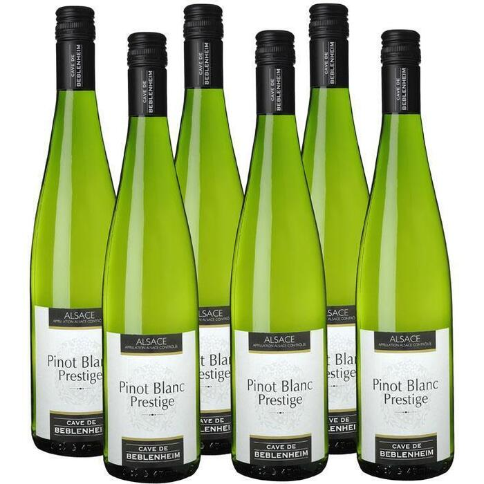 Cave de Beblenheim Pinot blanc prestige doos (6 × 0.75L)