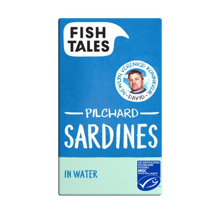 Zé Manel's Sardines in water (blik, 120g)