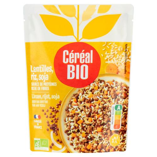 Céréal Bio Rijst, Wortelen & Linzen 250 g (250g)