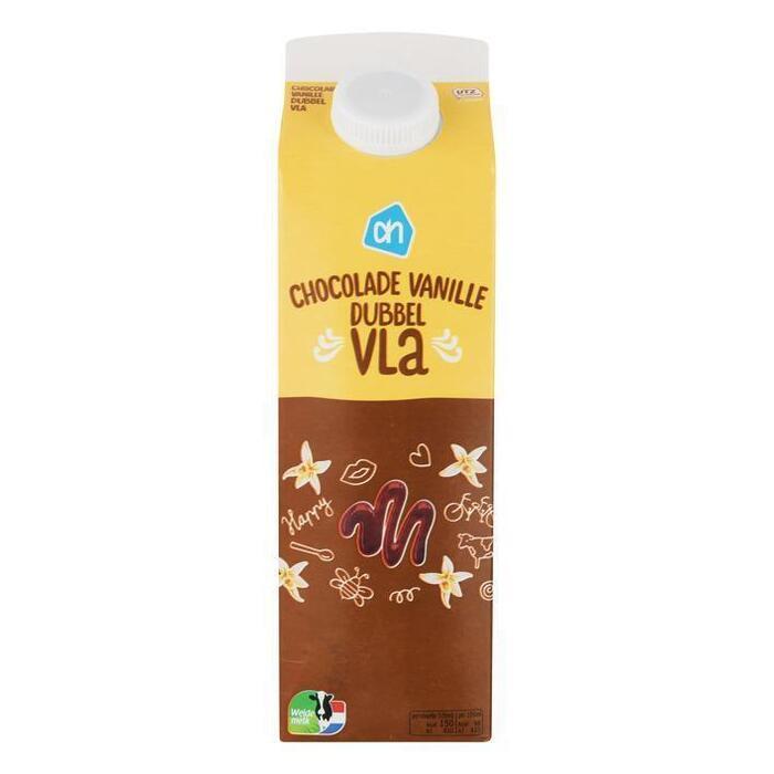 AH Dubbelvla chocolade-vanille (1L)