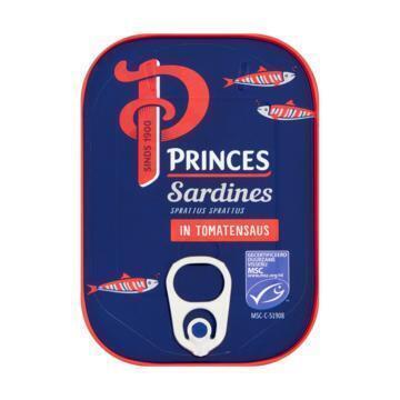 Princes Sardines in Tomatensaus 110 g Blik (110g)
