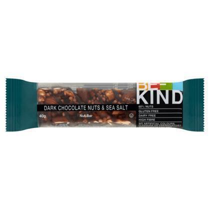 BE-KIND Granola dark chocolate Nuts&SeaSalt 40g wikkel (40g)