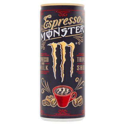 Monster Espresso and Milk Triple Shot 250 ml (rol, 25 × 250ml)