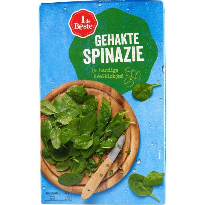 Spinazie gehakt (750g)