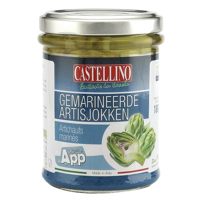 Gemarineerde Artisjokken (pot, 180g)