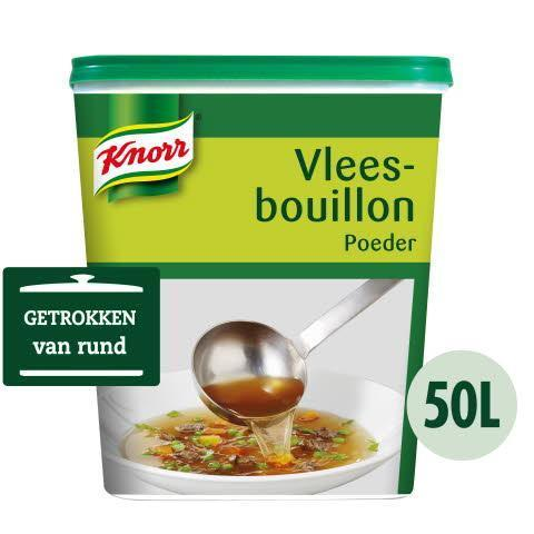 Knorr Vleesbouillon Authentiek (6 × 1kg)