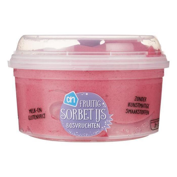 Bosvruchten sorbetijs (0.5L)