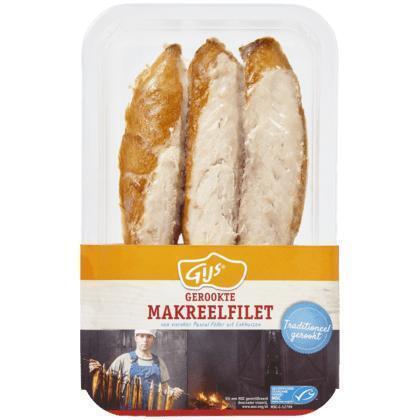Gerookte Makreelfilet (bak, 150g)