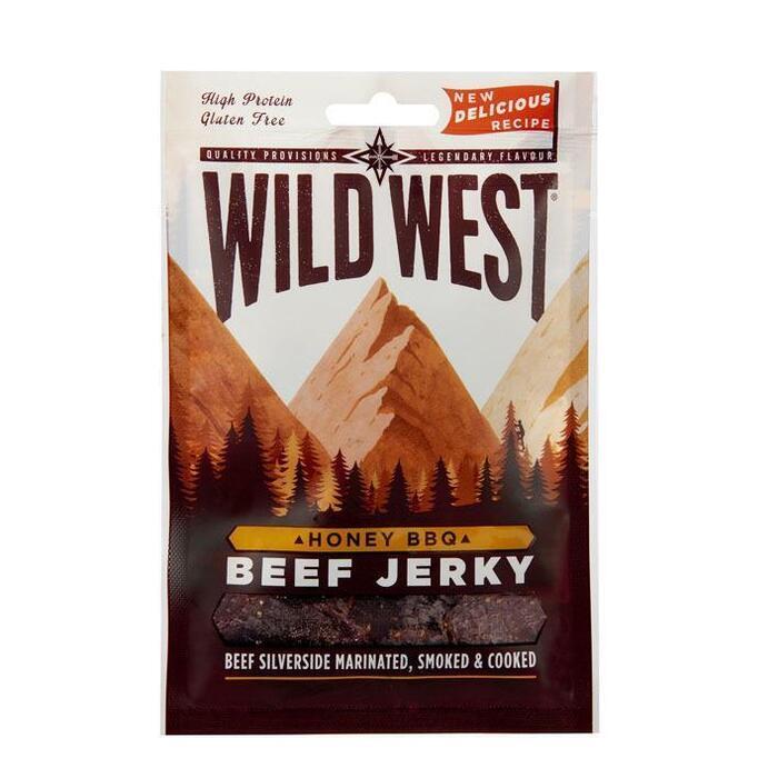 Wild West Beef jerky honey bbq (25g)