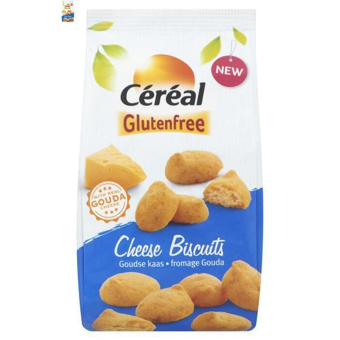 Céréal Glutenfree Cheese Biscuits Goudse Kaas 70 g (70g)