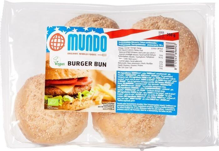 Hamburger broodjes (250g)
