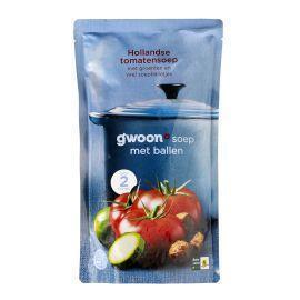 Hollandse tomatensoep (plastic zak, 0.57L)