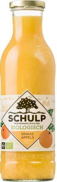 Schulp Sinaasappels biologisch (glas, 0.75L)