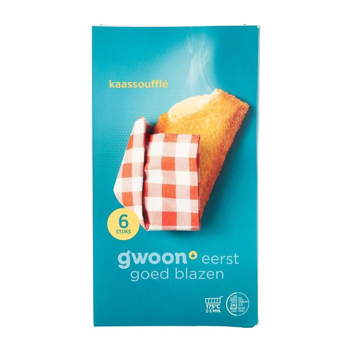 g'woon Kaassoufflé (6 × 45g)