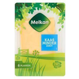 Melkan kaas plakken minder zout (150g)