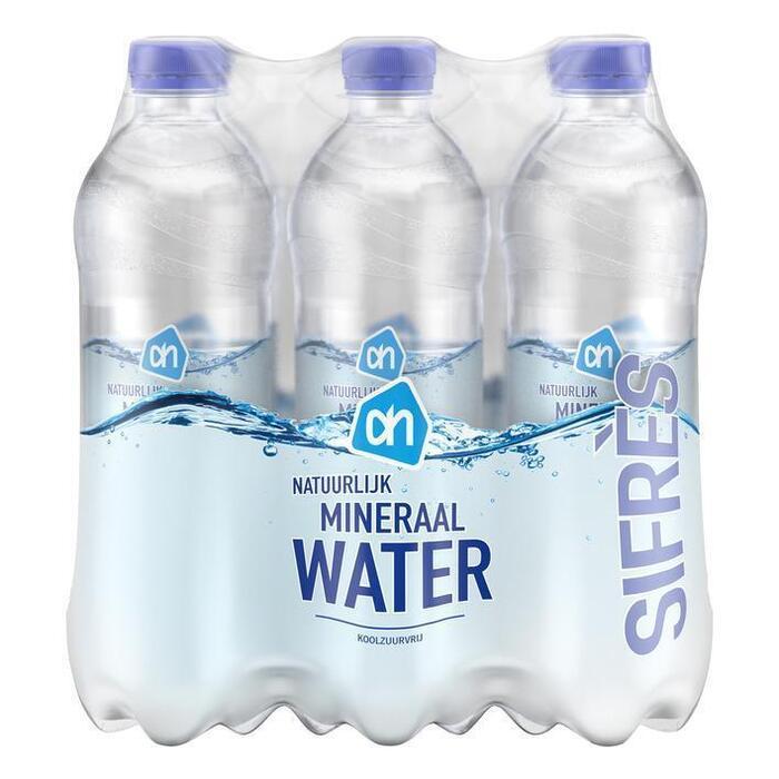 AH Natuurlijk mineraalwater (petfles, 6 × 0.5L)
