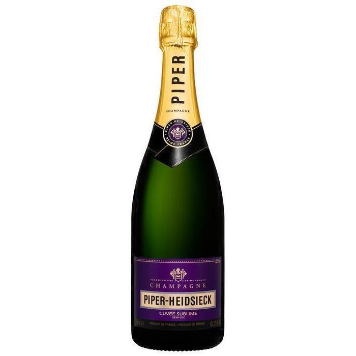 Champagne cuvée sublime (fles, 0.75L)