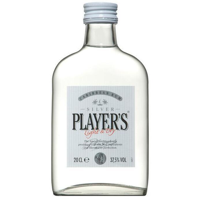 Player's Rum silver mini (rol, 200ml)
